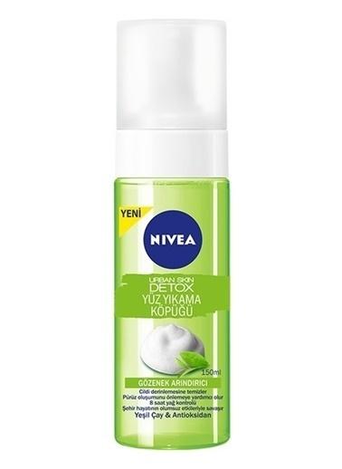 Nivea Urban Skin Detox Yüz Yıkama Köpüğü 150ml Renksiz